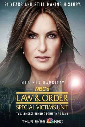 Série Law and Order: SVU - 21ª Temporada Legendada