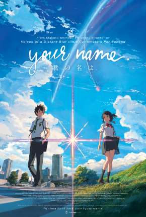 Filme Your Name. Dublado / Dual Áudio